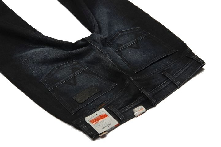 JEANS WRANGLER BOSTIN HOME COMFORTS 32 X 34 men's pants slim DARK BLUE W32 L34