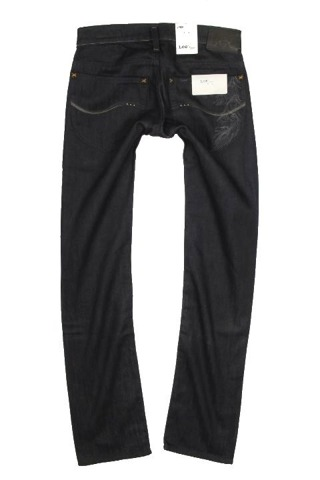 LEE LYNN JEANS 25 X 33 women's pants hipsters LOW STRAIGHT L384CAPE W25 L33