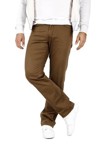 Wrangler Arizona Safari Khaki 33 X 34 men's material pants W33 L34