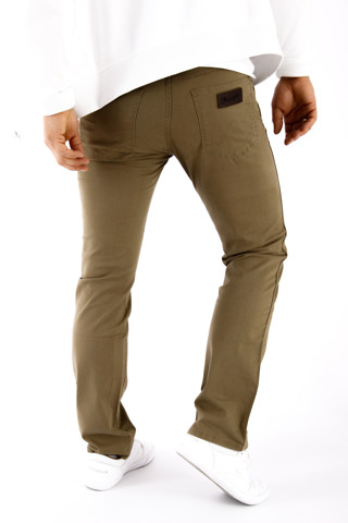 Wrangler Arizona SafariKhaki 30 X 34 men's trousers material W30 L34