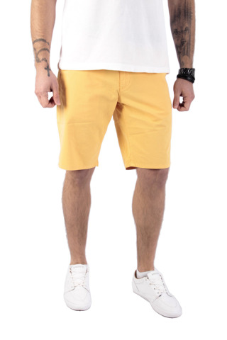 Wrangler Chino Short Amber Yellow W32