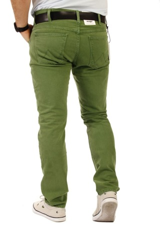 Wrangler Larston Fairway Green 28 x 30 men's trousers W28 L30