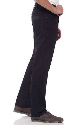 Wrangler Texas Black Men's Trousers 31 X 32 W31 L32