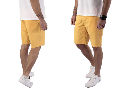 Wrangler Chino Amber Yellow Szorty W30