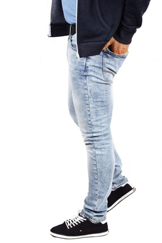 *Lee Luke Ice Jeans Rurki Slim Tapered W27 L30 L719CDMQ