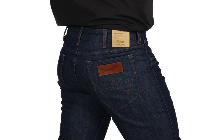 Wrangler Greensboro Blue Lake Jeansy Spodnie W29 L30